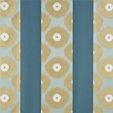 Pale Aqua/Teal Decorator Fabric by Threads