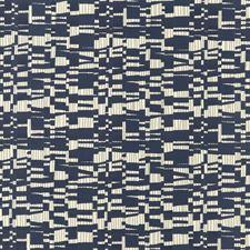 Indigo Jacquards Decorator Fabric by Threads