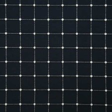 Navy Check Decorator Fabric by Pindler