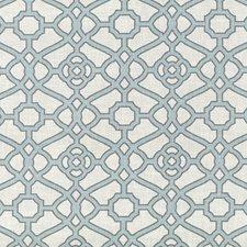 Tropical Blue Decorator Fabric by Kasmir