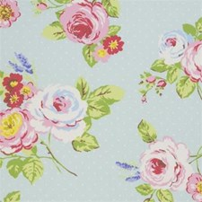 Rose Floral Large Decorator Fabric by Clarke & Clarke