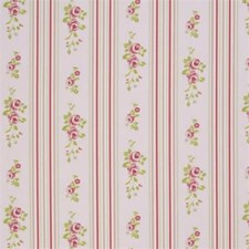 Stripe Floral Small Decorator Fabric by Clarke & Clarke