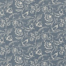 Wedgewood Floral Medium Decorator Fabric by Clarke & Clarke