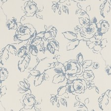 Wedgewood Floral Large Decorator Fabric by Clarke & Clarke