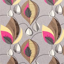 Sorbet Abstract Decorator Fabric by Clarke & Clarke