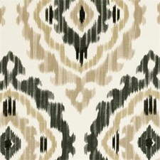 Natural Ethnic Decorator Fabric by Clarke & Clarke
