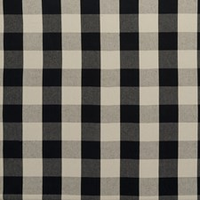 Charcoal Plaid Decorator Fabric by Clarke & Clarke