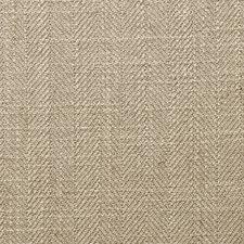 Latte Herringbone Decorator Fabric by Clarke & Clarke