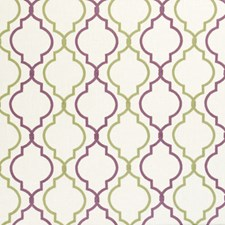 Orchid Embroidery Decorator Fabric by Clarke & Clarke