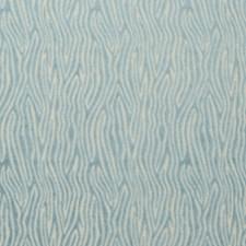 Aqua Abstract Decorator Fabric by Clarke & Clarke