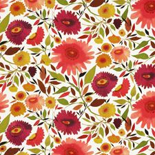 Autumn Floral Large Decorator Fabric by Clarke & Clarke