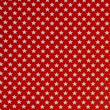 Stars Red Decorator Fabric by Clarke & Clarke