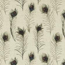 Feathers Linen Decorator Fabric by Clarke & Clarke