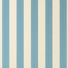 Aqua Stripes Decorator Fabric by Clarke & Clarke