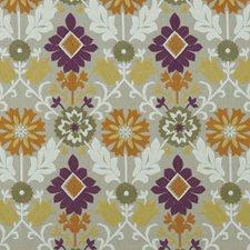 Damson/Spice Weave Decorator Fabric by Clarke & Clarke