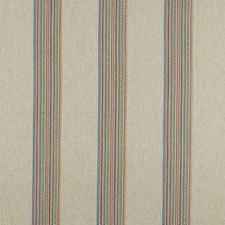 Multi Stripes Decorator Fabric by Clarke & Clarke