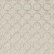 Blush Embroidery Decorator Fabric by Clarke & Clarke