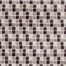 Damson Weave Decorator Fabric by Clarke & Clarke