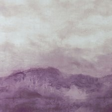 Damson/Taupe Decorator Fabric by Clarke & Clarke