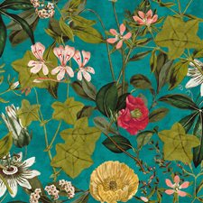 Kingfisher Decorator Fabric by Clarke & Clarke