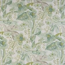 Watercress Botanical Decorator Fabric by Kravet
