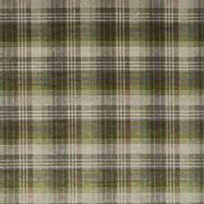 Grey/Green Velvet Decorator Fabric by Mulberry Home