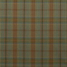 Lovat Plaid Decorator Fabric by Mulberry Home