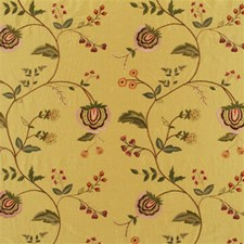 Sage Embroidery Decorator Fabric by Mulberry Home