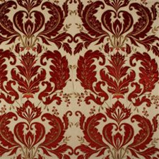 Ruby Damask Decorator Fabric by Mulberry Home