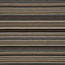 Chocolate/Nutmeg Stripes Decorator Fabric by Mulberry Home