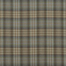 Lovat/Heather Check Decorator Fabric by Mulberry Home