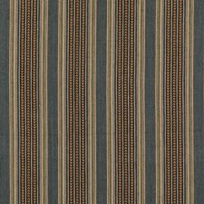 Denim Stripes Decorator Fabric by Mulberry Home