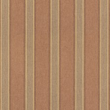 Rose/Sand Stripes Decorator Fabric by Mulberry Home