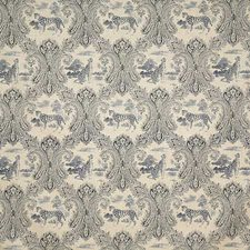 Bluemoon Print Decorator Fabric by Pindler