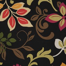 Black Swan Decorator Fabric by RM Coco