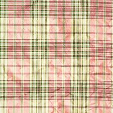 Gibson Silk Pla-Ruby/Hu Plaid Decorator Fabric by Lee Jofa