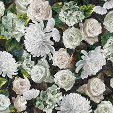 Sage/Ivory/Green Velvet Decorator Fabric by JF
