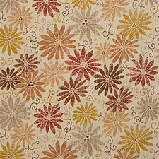 Russet Print Decorator Fabric by Groundworks