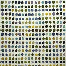 Blue/Leaf Dots Decorator Fabric by Groundworks