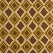 Sun/Spice Embroidery Decorator Fabric by Groundworks