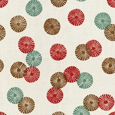 Indian Red Contemporary Decorator Fabric by Groundworks