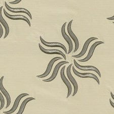 Silver Modern Decorator Fabric by Groundworks