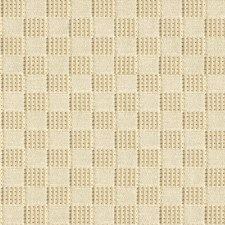 Ivory Check Decorator Fabric by Groundworks