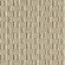 Grey Check Decorator Fabric by Groundworks