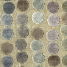 Mauve/Taupe Dots Decorator Fabric by Groundworks