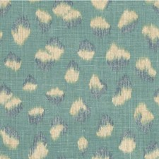 Lake/Slate Animal Skins Decorator Fabric by Groundworks
