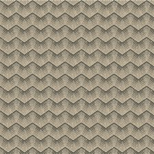Truffle Geometric Decorator Fabric by Groundworks