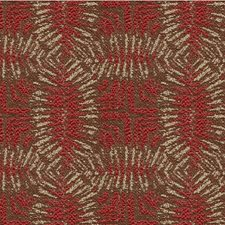 Ruby Contemporary Decorator Fabric by Groundworks