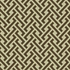Cocoa Modern Decorator Fabric by Groundworks