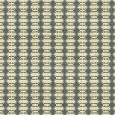 Metal Geometric Decorator Fabric by Groundworks